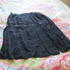 Vintage Saks Fifth Avenue Dressy Skirt, Sz. 16